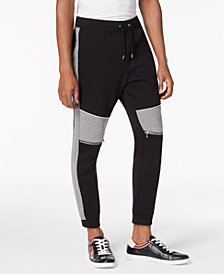 I.N.C. Men's Quilted Track Pants, Created for Macy's