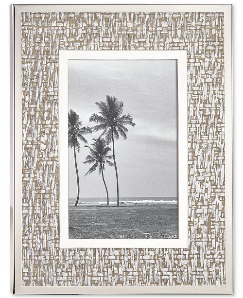 Kate Spade New York Picture Perfect Silver 4 X 6 Frame Picture