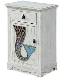 Marina One-Drawer Cabinet, Quick Ship