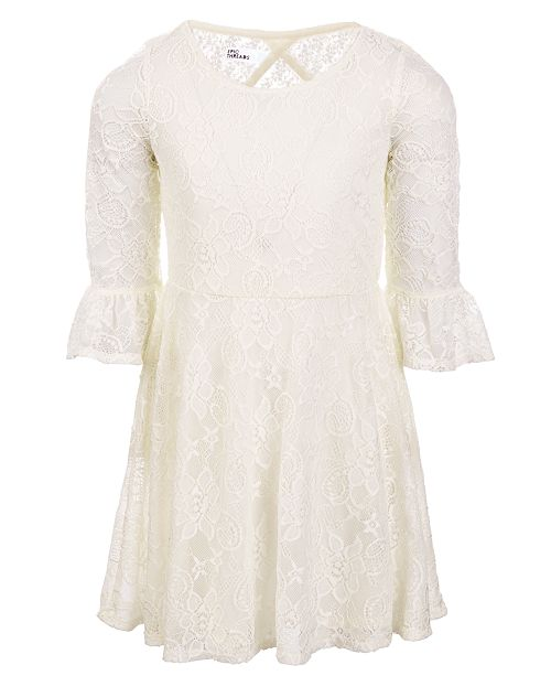 e087c6ae51d6 Epic Threads Little Girls Lace Bell Sleeve Dress, Created for Macy's ...