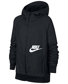 Nike Big Boys Sportswear Windrunner Zip-Up Hoodie