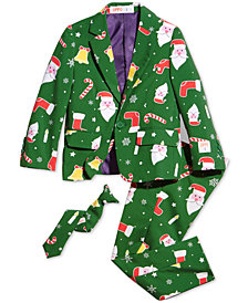 OppoSuits Little Boys 3-Pc. Santaboss Suit & Tie Set