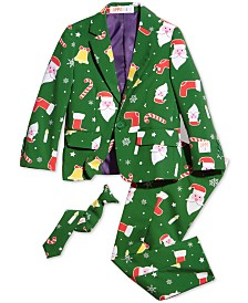 OppoSuits Boys Santaboss Christmas Suit