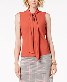 Nine West Tie-Neck Shell