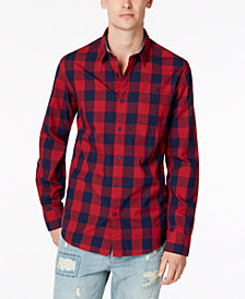 American Rag Men's Cassano Check Shirt, Created for Macy's