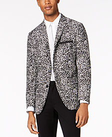 I.N.C. Men's Slim-Fit Patterned Sport Coat, Created for Macy's