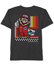 Nintendo Little Boys Super Mario Graphic-Print T-Shirt