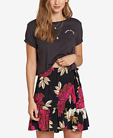 Billabong Juniors' For The Ride Floral-Print Skirt