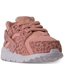 Nike Toddler Girls' Air Huarache Run SE Running Sneakers from Finish Line
