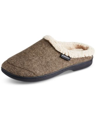 Isotoner Men's Brett Hoodback Slippers With Memory Foam