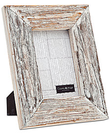 """Philip Whitney 4"""" x 6"""" White Barn Picture Frame"""