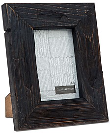 """Godinger 4"""" x 6"""" Black Barn Picture Frame"""