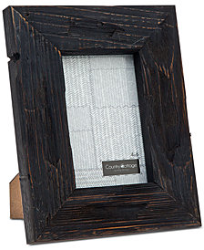 "Philip Whitney 4"" x 6"" Black Barn Picture Frame"