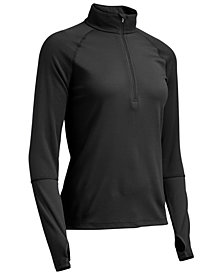 EMS® Women's Techwick® Midweight 1/4-Zip Base Layer