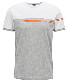 BOSS Men's Colorblocked Cotton T-Shirt