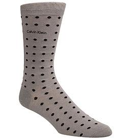 Calvin Klein Men's Dot Dress Socks