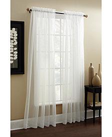 "Croscill Denise Sheer 57"" x 84"" Tailored Window Panel"