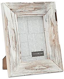 "Philip Whitney 5"" x 7"" White Barn Picture Frame"