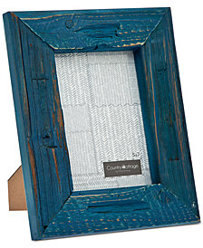 "Philip Whitney 5"" x 7"" Blue Barn Picture Frame"