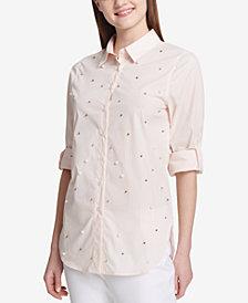 Calvin Klein Embellished Utility Shirt