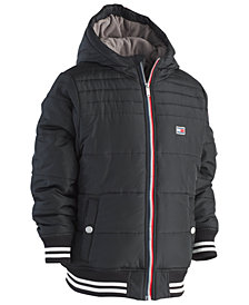Tommy Hilfiger Big Boys Bailey Hooded Puffer Jacket