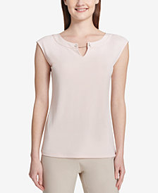 Calvin Klein Logo-Toggle Top