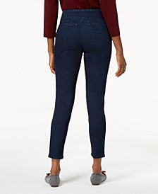 Petite Pull-On Slim-Leg Jeans, Created for Macy's