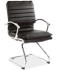 Synger Faux Leather Chair, Quick Ship