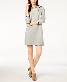 Tommy Hilfiger Layered-Look Sweatshirt Dress, Created for Macy's