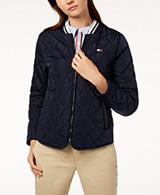 Tommy Hilfiger Sport Quilted Bomber Jacket, Created for Macy's