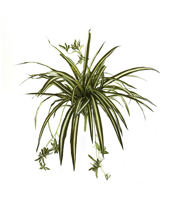 """Nearly Natural 4-Pc. 23"""" Spider Plant Artificial Bush Set"""