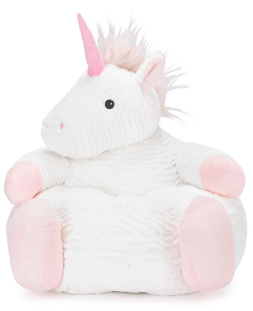 First Impressions Baby Girls Plush Unicorn Chair Created For Macy S