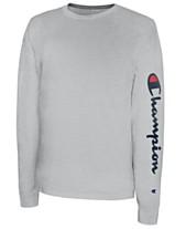 803f7816 Champion Men's Long-Sleeve Logo T-Shirt
