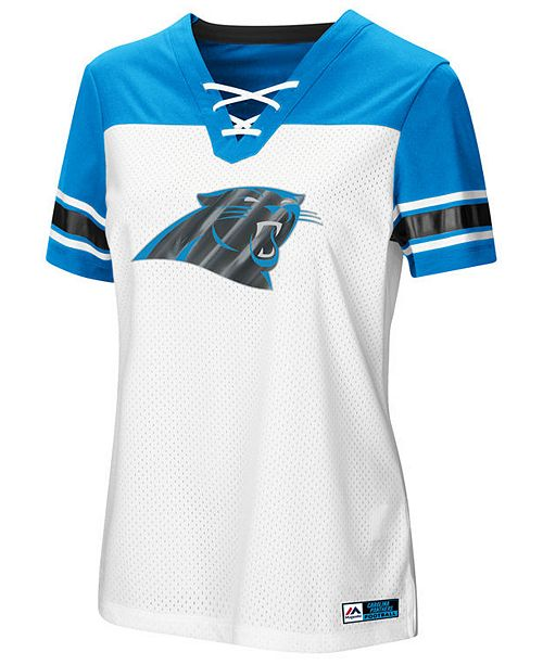 Majestic Women s Carolina Panthers Draft Me T-Shirt 2018 - Sports ... e33cc2df28ab