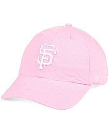 San Francisco Giants Pink CLEAN UP Strapback Cap