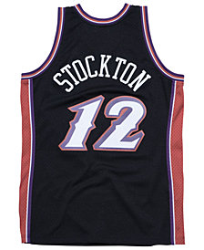 Mitchell & Ness Men's John Stockton Utah Jazz Hardwood Classic Swingman Jersey
