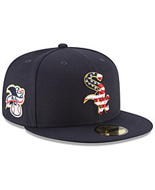 New Era Chicago White Sox Stars and Stripes 59FIFTY Fitted Cap