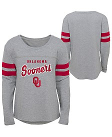 Outerstuff Oklahoma Sooners Field Armor Long Sleeve T-Shirt, Girls (4-16)