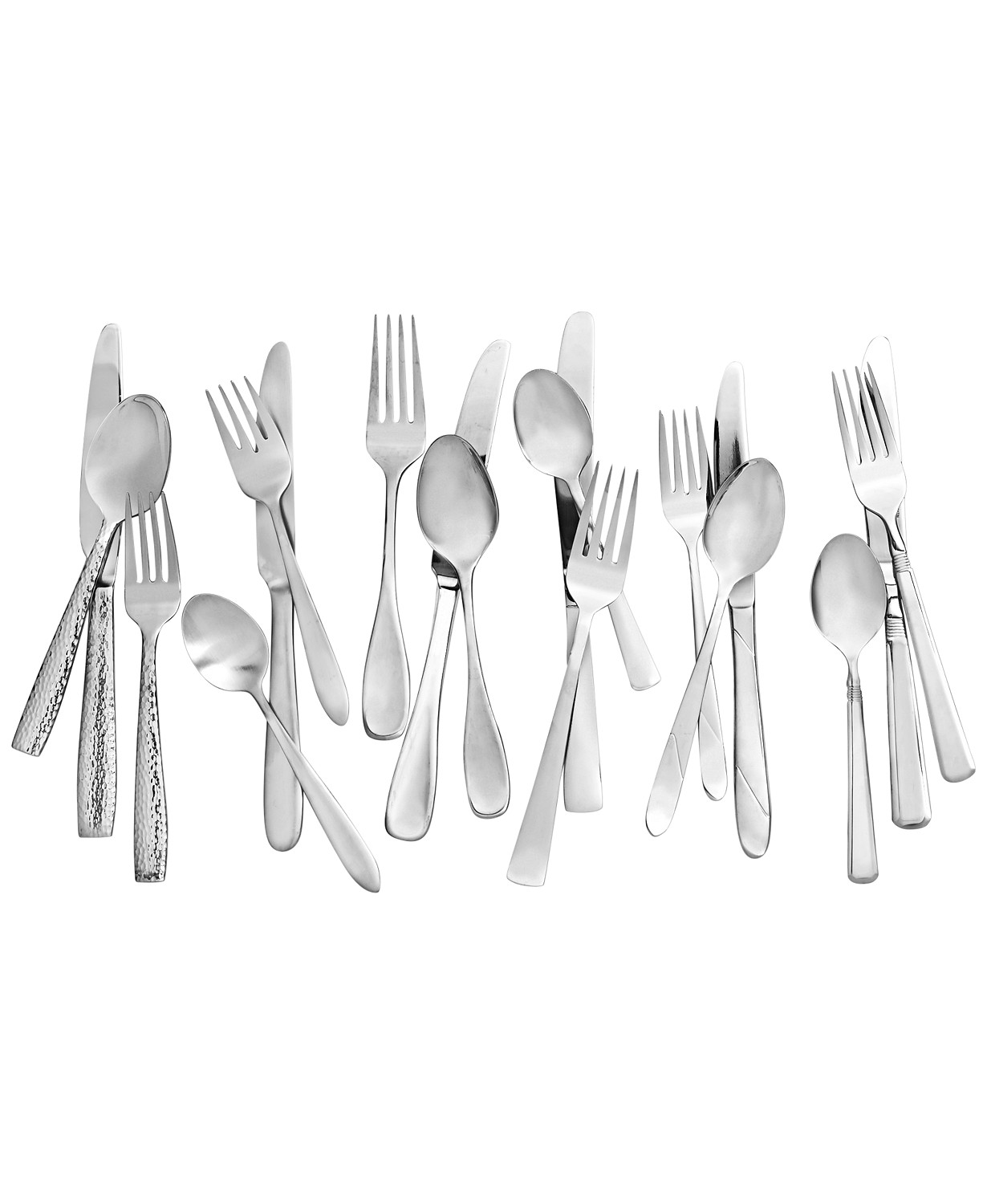 Oneida Avery 78-Pc. Flatware Set, Service for 12, Created for Macy's & Reviews - Flatware - Dining - Macy's