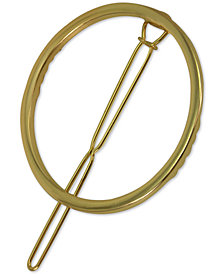 GUESS Gold-Tone Circle Hair Barrette