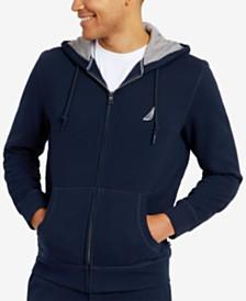 Nautica Men's Anchor Fleece Full-Zip Hoodie
