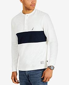 Nautica Men's Wide-Stripe Henley