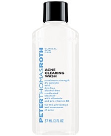 Receive a FREE Acne Clearing Wash with $45 Peter Thomas Roth Purchase!