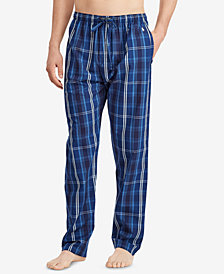 Polo Ralph Lauren Men's Plaid Cotton Pajama Pants