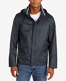 Nautica Men's Waterproof Hooded Bomber Jacket