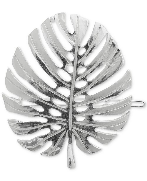 The Finest Accessories France Luxe Leaf Tige Boule Hair Pin