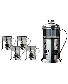 French Press 5-Pc. Coffee Set