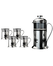 BergHOFF French Press 5-Pc. Coffee Set