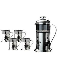 BergHOFF French Press 5-Pc. Coffee Set