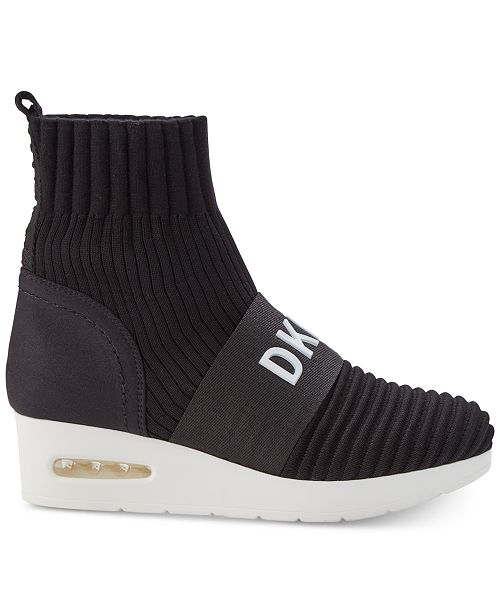 907852ab8d8 ... DKNY Anna Wedge Sneakers